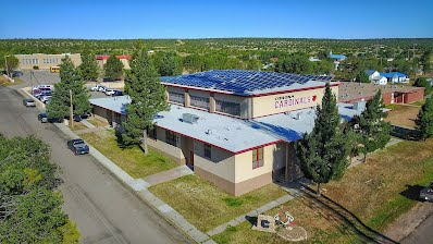 Aerial photo of Corona Public Schools campus.
